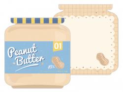 Acheter Bloc-notes - Beurre de cacahuètes - 1,99€ en ligne sur La Petite Epicerie - 100% Loisirs créatifs