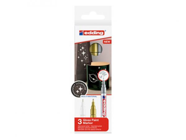 Acheter Lot de 3 marqueurs multi-matières - 1/2mm - 9,95€ en ligne sur La Petite Epicerie - 100% Loisirs créatifs