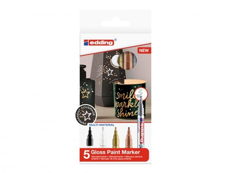 Acheter Lot de 5 marqueurs multi-matières - Calligraphie - 1/2,5mm - 16,29€ en ligne sur La Petite Epicerie - Loisirs créatifs