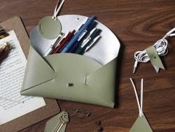 Acheter Kit de maroquinerie - vert olive - 9,99€ en ligne sur La Petite Epicerie - Loisirs créatifs