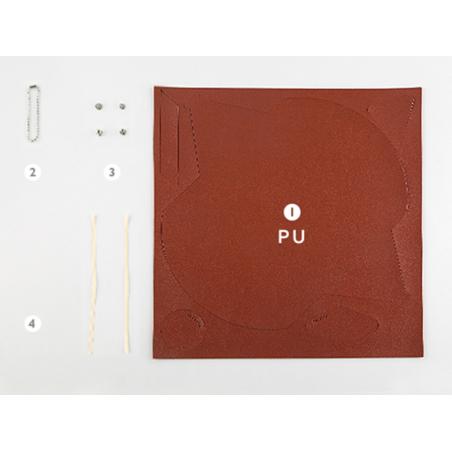 Acheter Kit de maroquinerie - rouge Bourgogne - 9,99€ en ligne sur La Petite Epicerie - 100% Loisirs créatifs