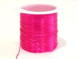 12 m de fil élastique brillant - rose fushia