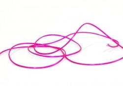 12 m of shiny elastic cord - fuchsia