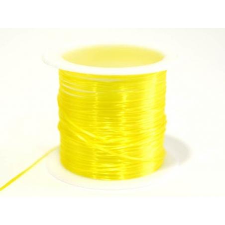 Acheter 12 m de fil élastique brillant - jaune fluo - 1,59€ en ligne sur La Petite Epicerie - Loisirs créatifs