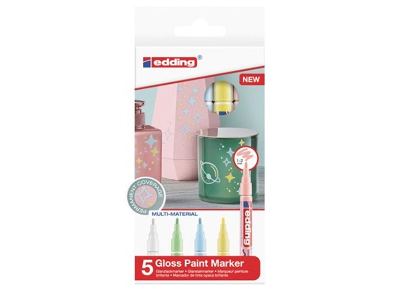 Acheter Lot de 5 marqueurs multi-matières - Pastel - 1/2mm - 16,29€ en ligne sur La Petite Epicerie - Loisirs créatifs