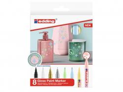 Acheter Lot de 8 marqueurs multi-matières - Pastel - 1/2mm - 24,56€ en ligne sur La Petite Epicerie - Loisirs créatifs