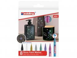 Acheter Lot de 8 marqueurs multi-matières - 1/2mm - 24,25€ en ligne sur La Petite Epicerie - Loisirs créatifs