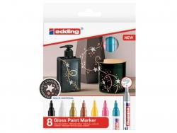 Acheter Lot de 8 marqueurs multi-matières - 2/4mm - 24,25€ en ligne sur La Petite Epicerie - Loisirs créatifs
