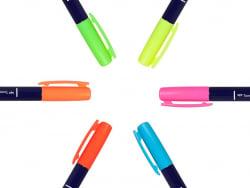 Acheter Set de 6 feutres Fudenosuke Brush Tombow - Neon - 17,59€ en ligne sur La Petite Epicerie - 100% Loisirs créatifs