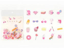 Acheter Lot de 30 stickers - Gourmandises - 2,29€ en ligne sur La Petite Epicerie - Loisirs créatifs