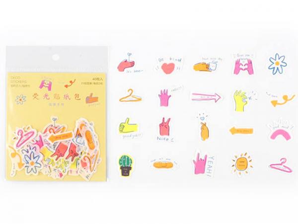 Acheter Lot de 30 stickers - Motifs colorés - 2,29€ en ligne sur La Petite Epicerie - Loisirs créatifs