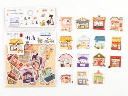 Acheter Stickers décoratifs - Petits commerces - 1,99€ en ligne sur La Petite Epicerie - Loisirs créatifs