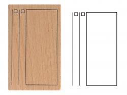 Acheter Tampon pour bullet journal - Déco - 2,99€ en ligne sur La Petite Epicerie - Loisirs créatifs