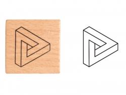Acheter Tampon - Forme géométrique - 1,99€ en ligne sur La Petite Epicerie - Loisirs créatifs