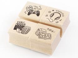 Acheter Lot de 4 tampons - Loisirs - 4,99€ en ligne sur La Petite Epicerie - Loisirs créatifs