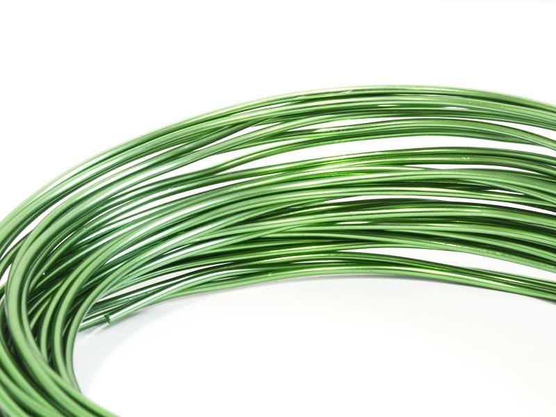 Acheter 10 m de fil aluminium - vert foncé - 2,09€ en ligne sur La Petite Epicerie - Loisirs créatifs