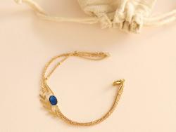 Acheter Bracelet multi-rangs Chloé - Kit bijoux précieux dorés à l'or fin - 21,90€ en ligne sur La Petite Epicerie - Loisirs...