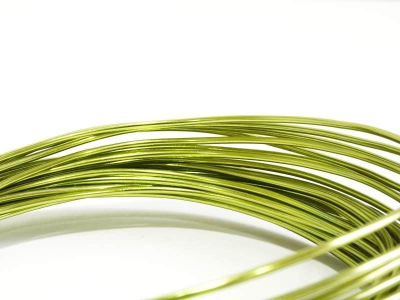 Acheter 10 m de fil aluminium - vert clair - 2,09€ en ligne sur La Petite Epicerie - 100% Loisirs créatifs