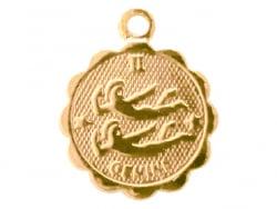Acheter Médaille astro - Gémeaux - 3,99€ en ligne sur La Petite Epicerie - Loisirs créatifs