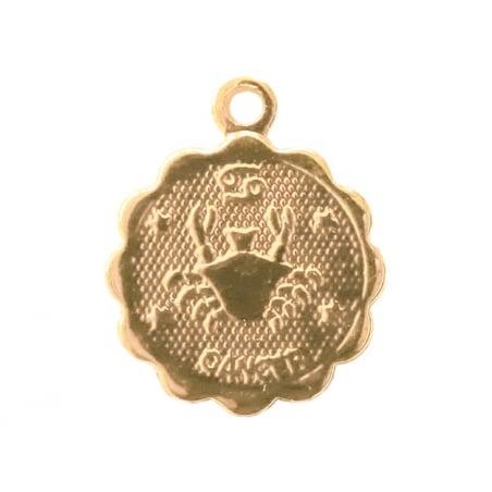Acheter Médaille astro OR FIN - Cancer - 3,99€ en ligne sur La Petite Epicerie - Loisirs créatifs