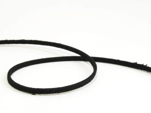 1 m de cordon feutré - noir