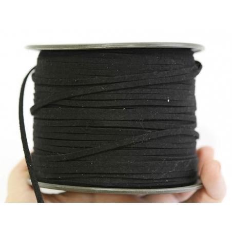 1 m of felt cord - black