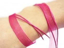 Acheter Collier organza rose fushia - 0,99€ en ligne sur La Petite Epicerie - Loisirs créatifs