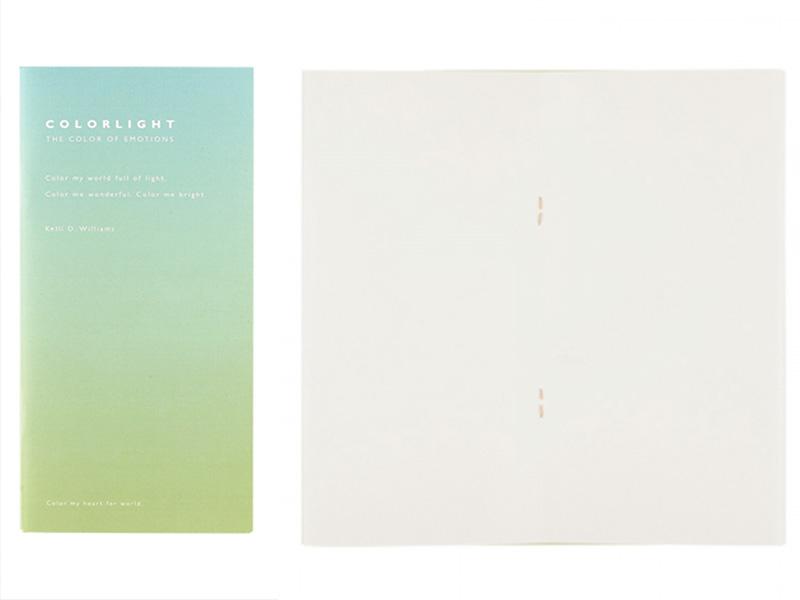 Acheter Carnet aux pages blanches - Dégradé bleu et vert - 2,99€ en ligne sur La Petite Epicerie - Loisirs créatifs