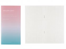 Acheter Carnet aux pages quadrillées - Dégradé bleu et violet - 2,99€ en ligne sur La Petite Epicerie - Loisirs créatifs