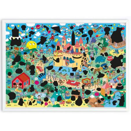 Acheter Poster géant à gratter - MAGIC - 15,99€ en ligne sur La Petite Epicerie - Loisirs créatifs