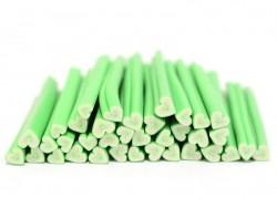 Cane coeur happy vert