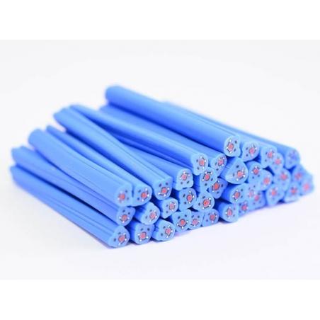 Teddy cane - blue