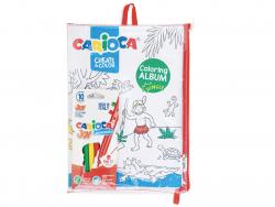 Acheter Pochette de coloriage : album à colorier + 10 feutres - Jungle et sous l'océan - 6,99€ en ligne sur La Petite Epicer...