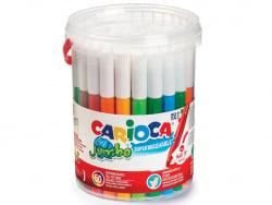 Acheter Seau de 50 feutres Jumbo - Carioca - 19,99€ en ligne sur La Petite Epicerie - Loisirs créatifs