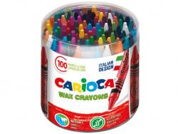 Acheter Lot de 100 pastels à la cire - Carioca Wax - 7,99€ en ligne sur La Petite Epicerie - Loisirs créatifs