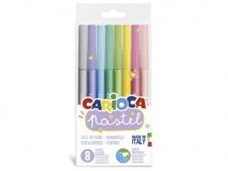 Acheter Set de 8 feutres pastel - Carioca - 2,99€ en ligne sur La Petite Epicerie - Loisirs créatifs