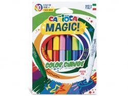 Acheter Pochette de 10 feutres à l'encre magique - Carioca Magic Color Change - 3,69€ en ligne sur La Petite Epicerie - Lois...