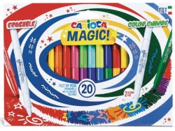 Acheter Pochette de 20 feutres à l'encre magique et effaçable - Carioca Magic Erasable & Color Change - 7,29€ en ligne sur L...