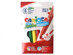 Acheter Pochette de 6 feutres Jumbo - Carioca - 2,49€ en ligne sur La Petite Epicerie - 100% Loisirs créatifs