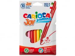 Acheter Pochette de 10 feutres ultra lavables - Carioca Joy - 1,99€ en ligne sur La Petite Epicerie - Loisirs créatifs