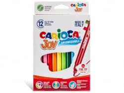 Acheter Pochette de 12 feutres ultra lavables - Carioca Joy - 2,29€ en ligne sur La Petite Epicerie - Loisirs créatifs