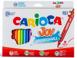 Acheter Pochette de 24 feutres ultra lavables - Carioca Joy - 4,49€ en ligne sur La Petite Epicerie - Loisirs créatifs