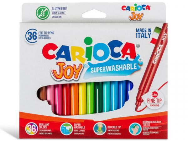 Acheter Pochette de 36 feutres ultra lavables - Carioca Joy - 6,69€ en ligne sur La Petite Epicerie - 100% Loisirs créatifs