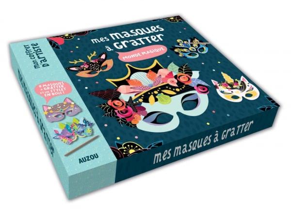 Acheter Coffret mes masques à gratter - 12,95€ en ligne sur La Petite Epicerie - 100% Loisirs créatifs