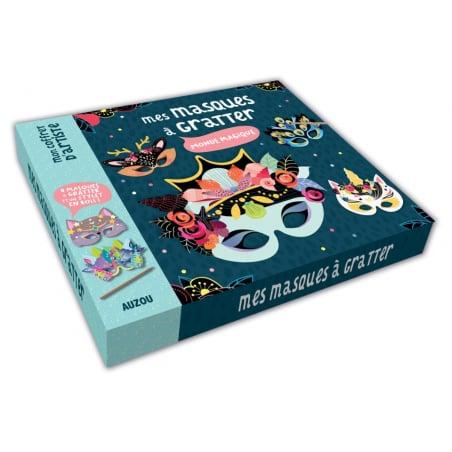 Acheter Coffret mes masques à gratter - 12,95€ en ligne sur La Petite Epicerie - Loisirs créatifs