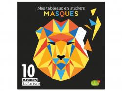 Acheter Mes tableaux en stickers - Masques - 9,95€ en ligne sur La Petite Epicerie - Loisirs créatifs