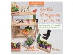 Livre Fruits et légumes en pâte polymère