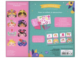 Acheter Coffret créatif mes masques de princesses - 8 masques - 12,95€ en ligne sur La Petite Epicerie - Loisirs créatifs
