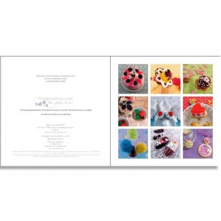 Livre créations gourmandes en pâte polymère Créapassions - 2
