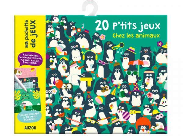 Acheter 20 P'TITS JEUX CHEZ LES ANIMAUXLOULOU & TUMMIE - 5,95€ en ligne sur La Petite Epicerie - Loisirs créatifs